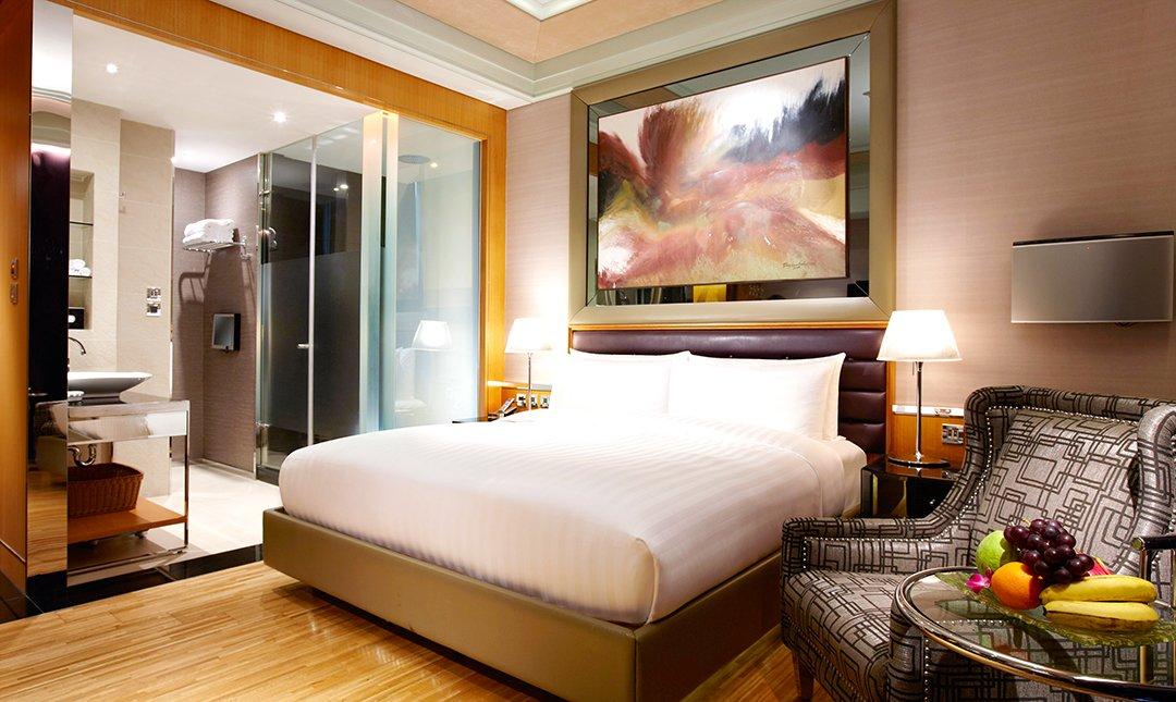 台北怡亨五星酒店-豪華雙床房   連住兩晚近101
