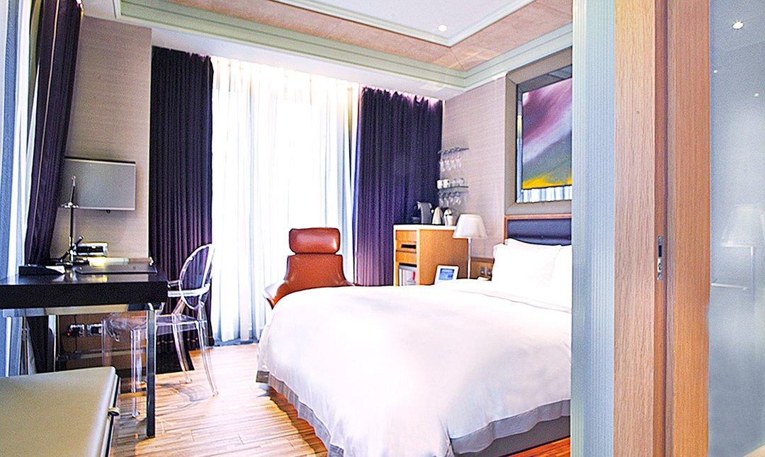 台北怡亨五星酒店-頂級豪華房   連住兩晚近101