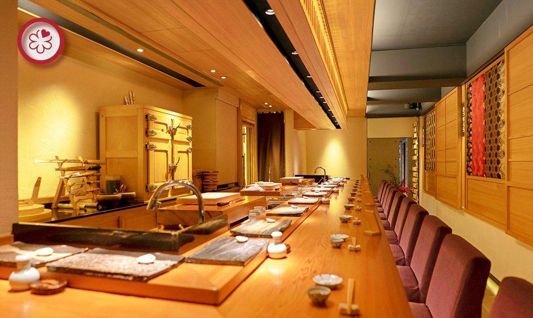 米其林一星 | 吉兆割烹壽司-20 年主廚經驗 | 雙人午間料理