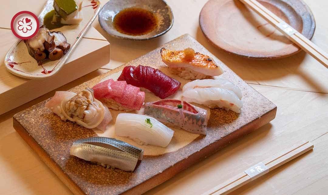 米其林一星 | 鮨隆-無菜單料理 | 雙人午間料理