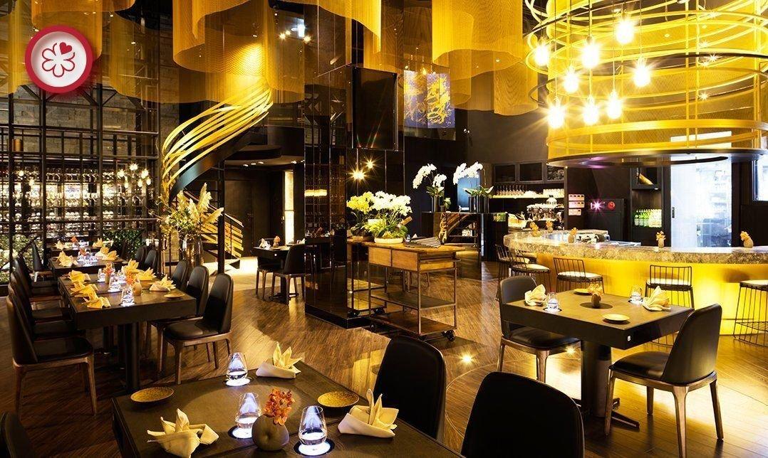 米其林餐盤 | 蘭餐廳-黑 / 金色蘭單人套餐|預付贈氣泡酒
