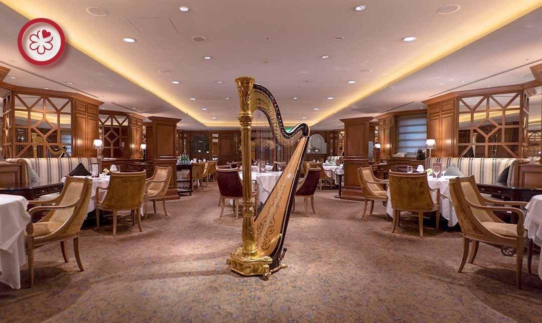 米其林餐盤 | 喜來登飯店安東廳-浪漫優雅 | 雙人晚間料理
