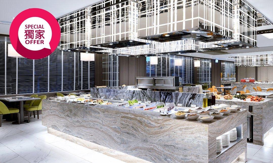 五星板橋凱撒 | 朋派自助餐-第二人半價優惠|雙人自助 buffet