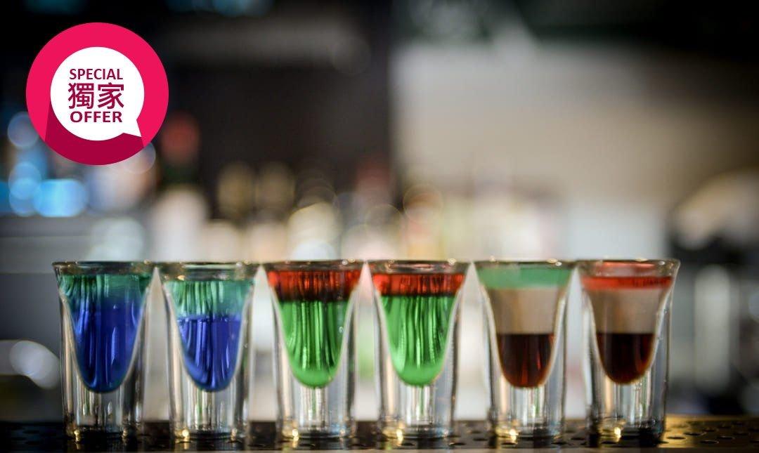 ONCE Cafe & Bar-夜微醺|SHOT 六入組