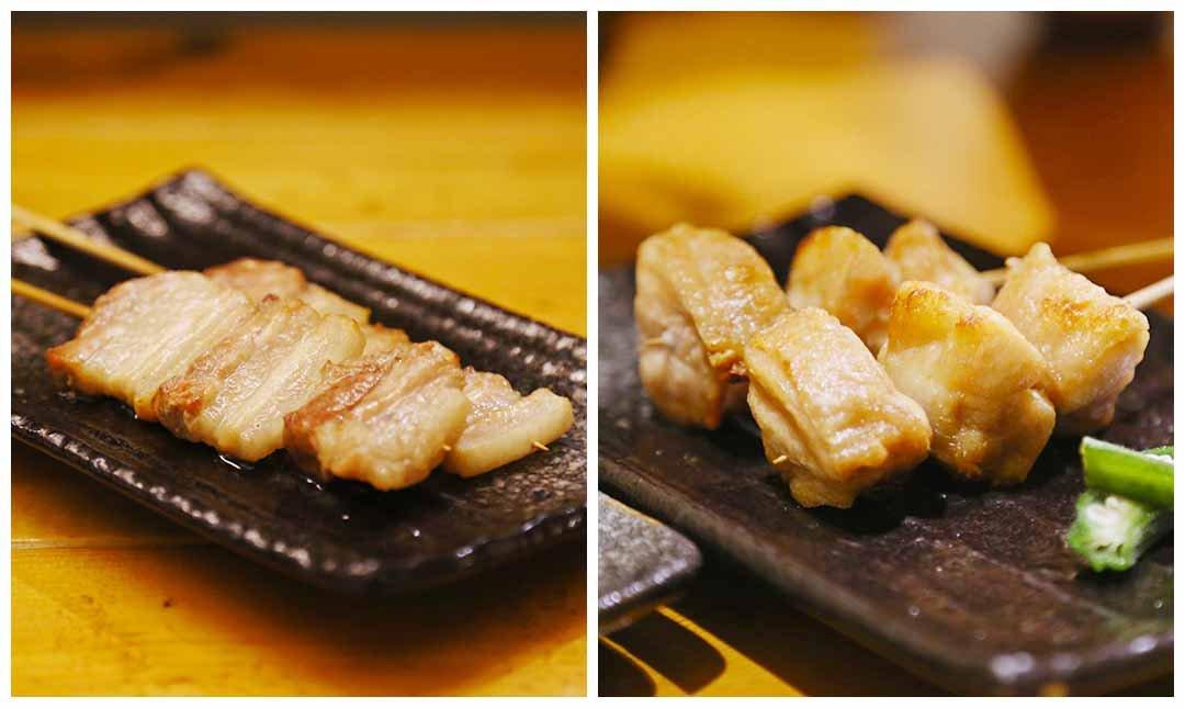 海人極究海鮮烤物-蹦出滋味 | 豬肉 + 雞肉 + 雞皮