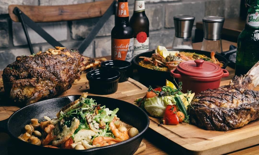 JK STUDIO 新義法料理 | 市政府站-四人牛排套餐 | 101 搖滾區