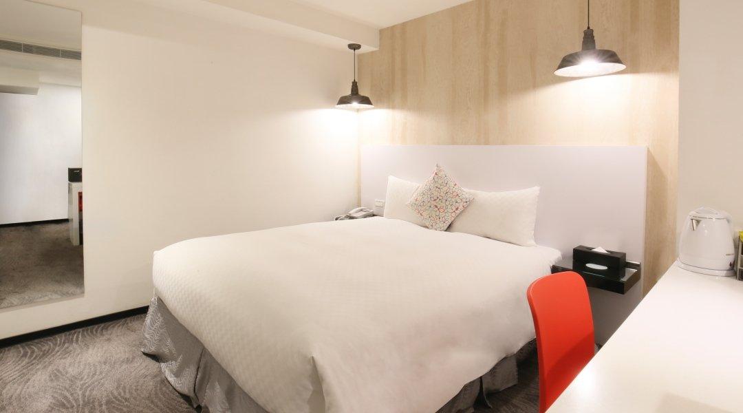新尚旅店-不指定雙人房 6h|平日加贈 0.5h