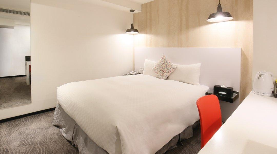 新尚旅店-不指定雙人房 2h|獨家加贈 0.5h