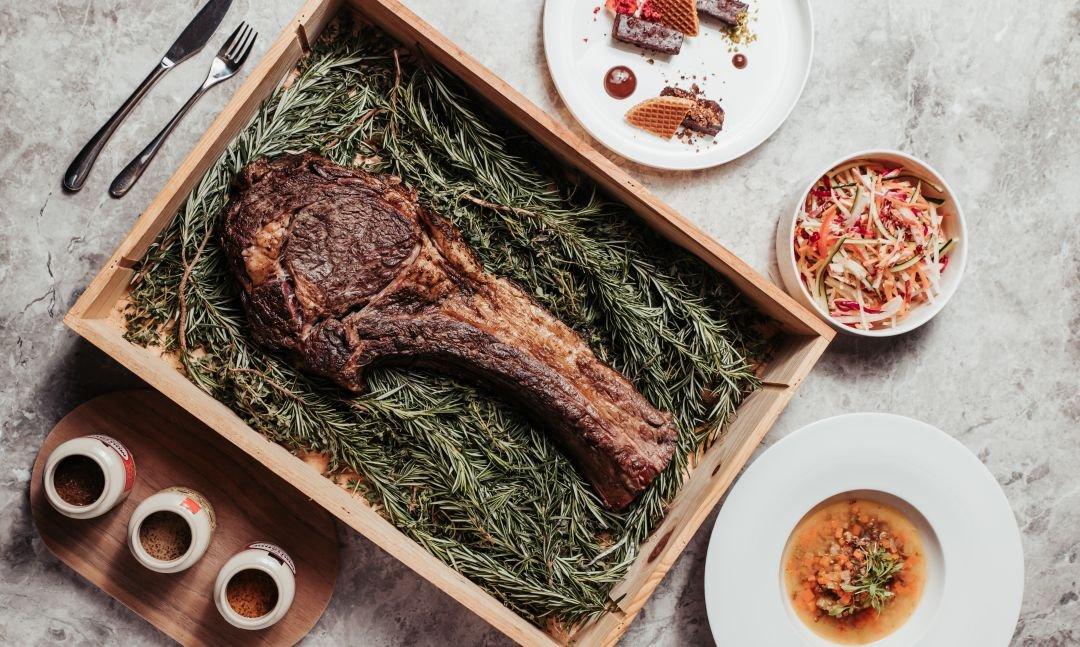 晶華酒店XGQ  肉食 Taste Lab-炙烤美國戰斧和牛 60 盎司四人套餐