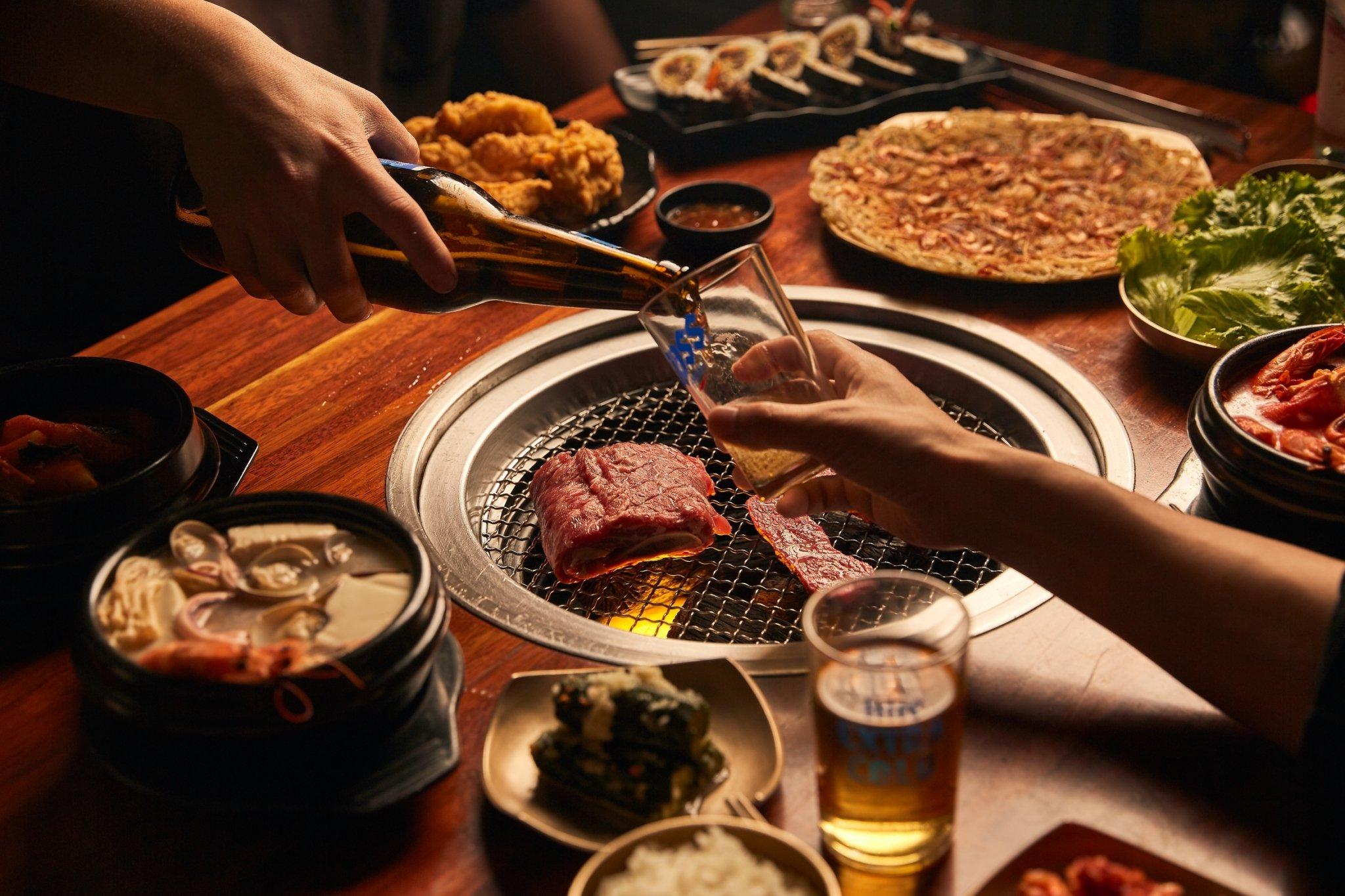 Meat Love 橡木炭火韓國烤肉 信義店-吃肉雙人餐