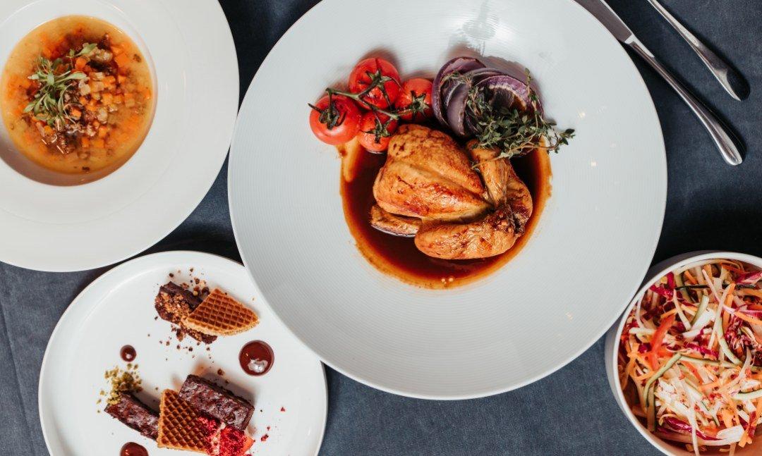 晶華酒店XGQ  肉食 Taste Lab-爐烤春雞一人套餐