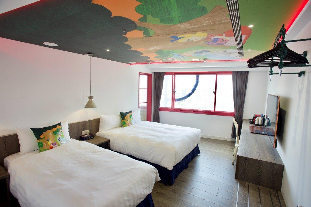 挪威森林 行旅 1 號館-VIP 景觀四人房|泡澡首選