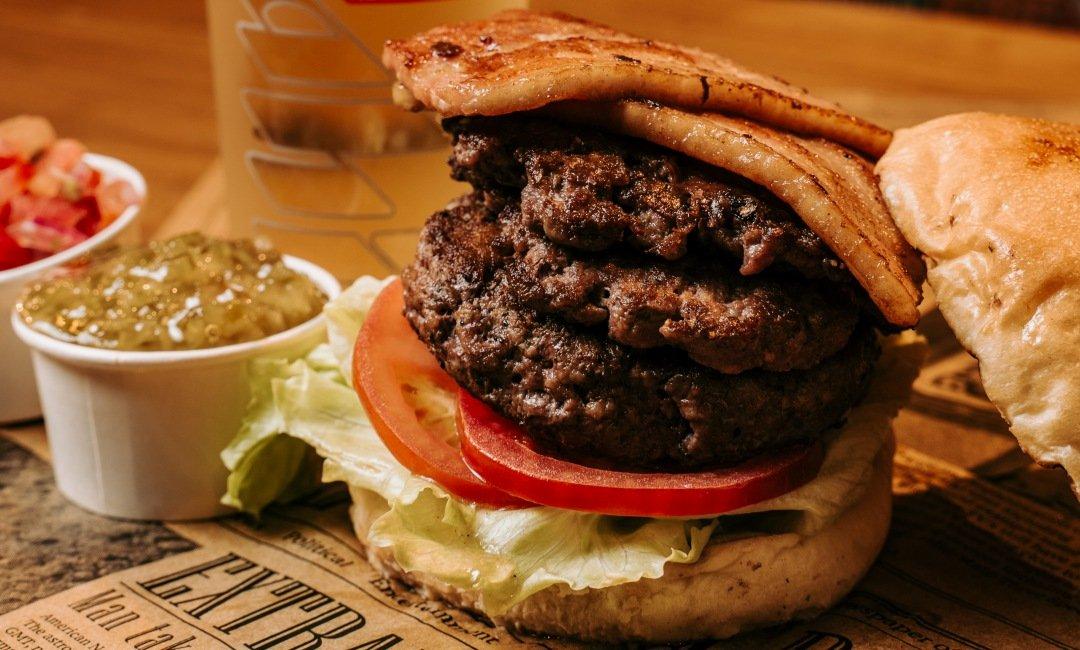 Burger Ray 個性漢堡-酒池肉林一人套餐