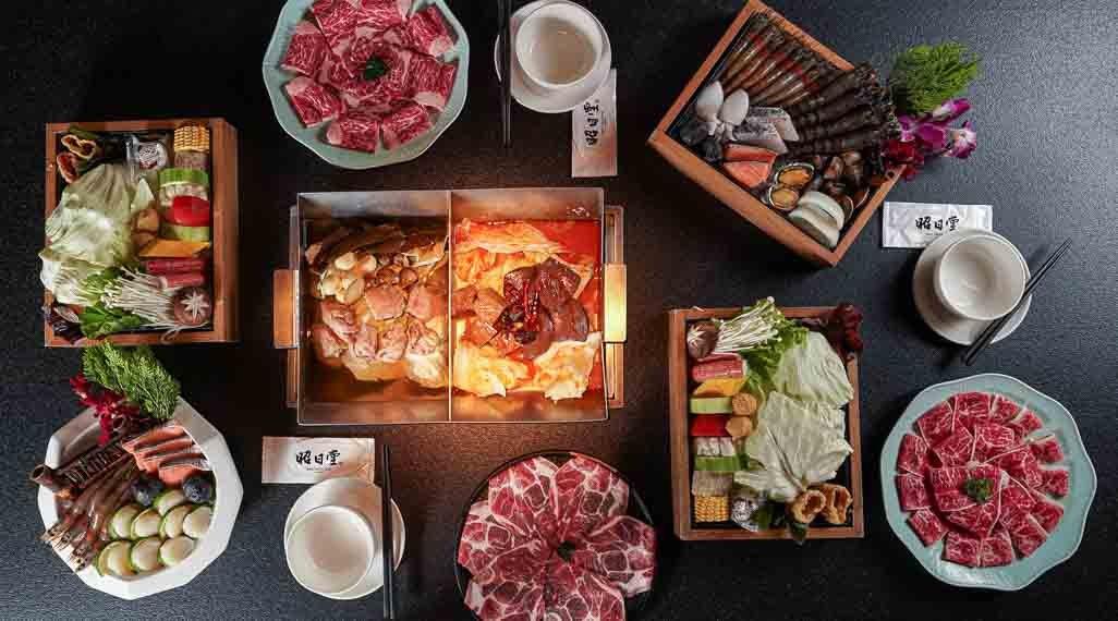 昭日堂鍋煮|台中火鍋-昭日雙人蝦饗宴套餐