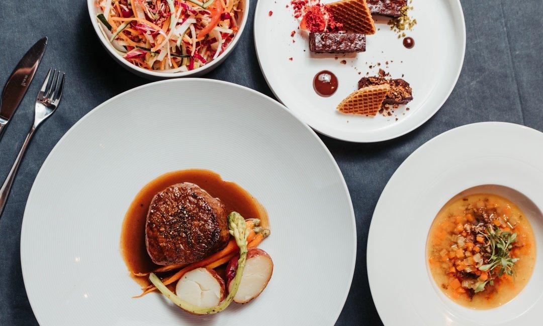 晶華酒店XGQ  肉食 Taste Lab-香煎海明威牛肉菲力一人套餐 ( 8 盎司 )
