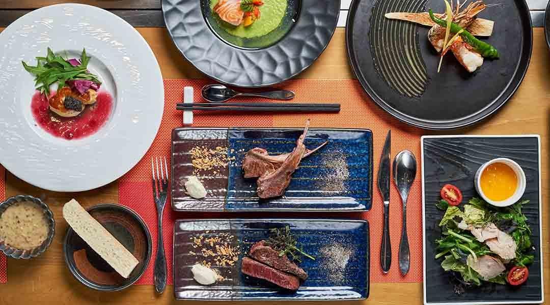Le Feu 鐵板燒-雙人經典套餐