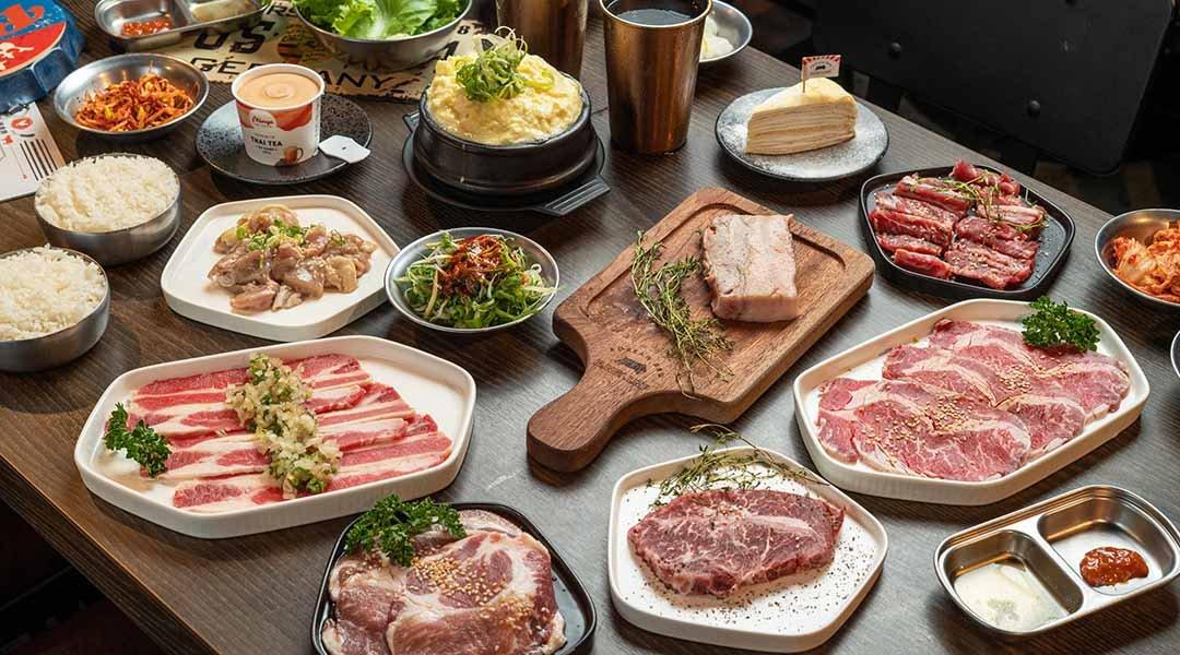 笨豬跳 韓式燒肉  台中店-經典跳雙人套餐