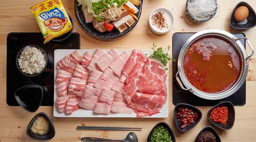 川鼎精緻鍋物 台北火鍋-豬隊友馫肉鍋 單人套餐