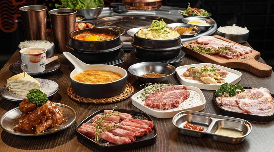 笨豬跳 韓式燒肉  台中店-三重跳雙人套餐