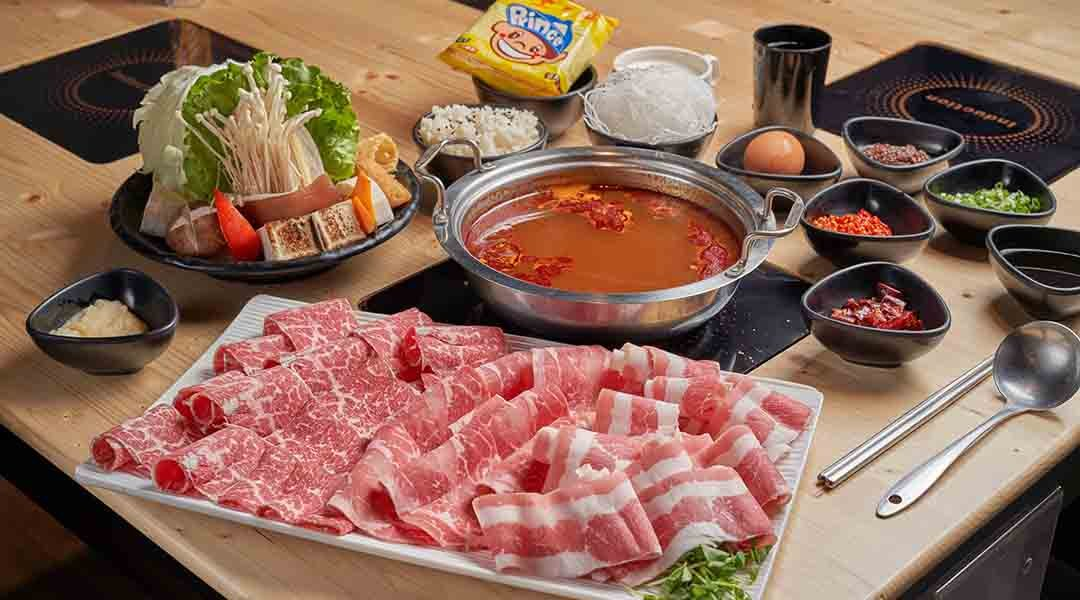 川鼎精緻鍋物 台北火鍋-哞饗宴犇肉鍋 單人套餐