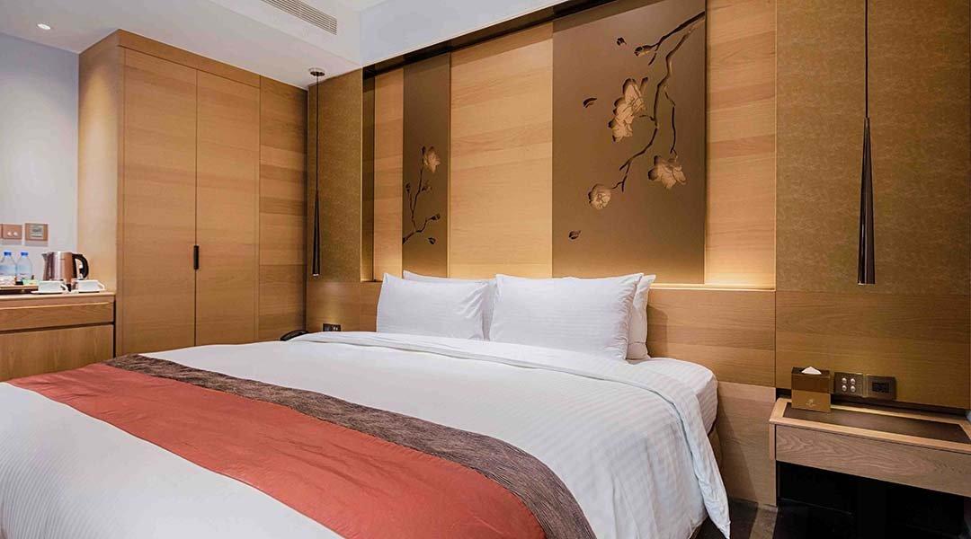 洛碁大飯店 南京館-不限房型大床房 12h