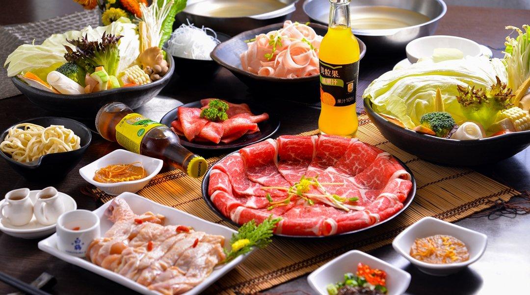 牧軒 Shabu 台北火鍋-雙人肉 FUN 套餐