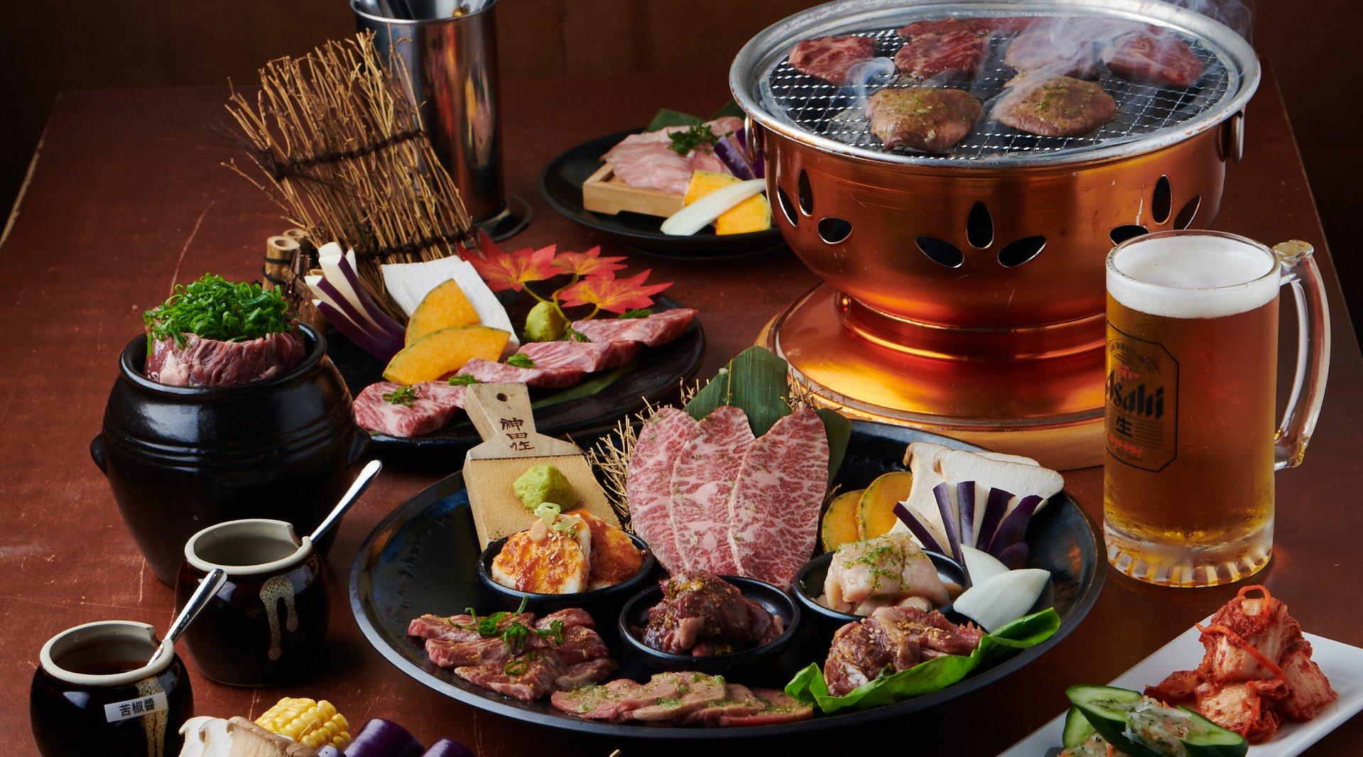 丸道燒肉-現場 500 元折抵|贈小菜