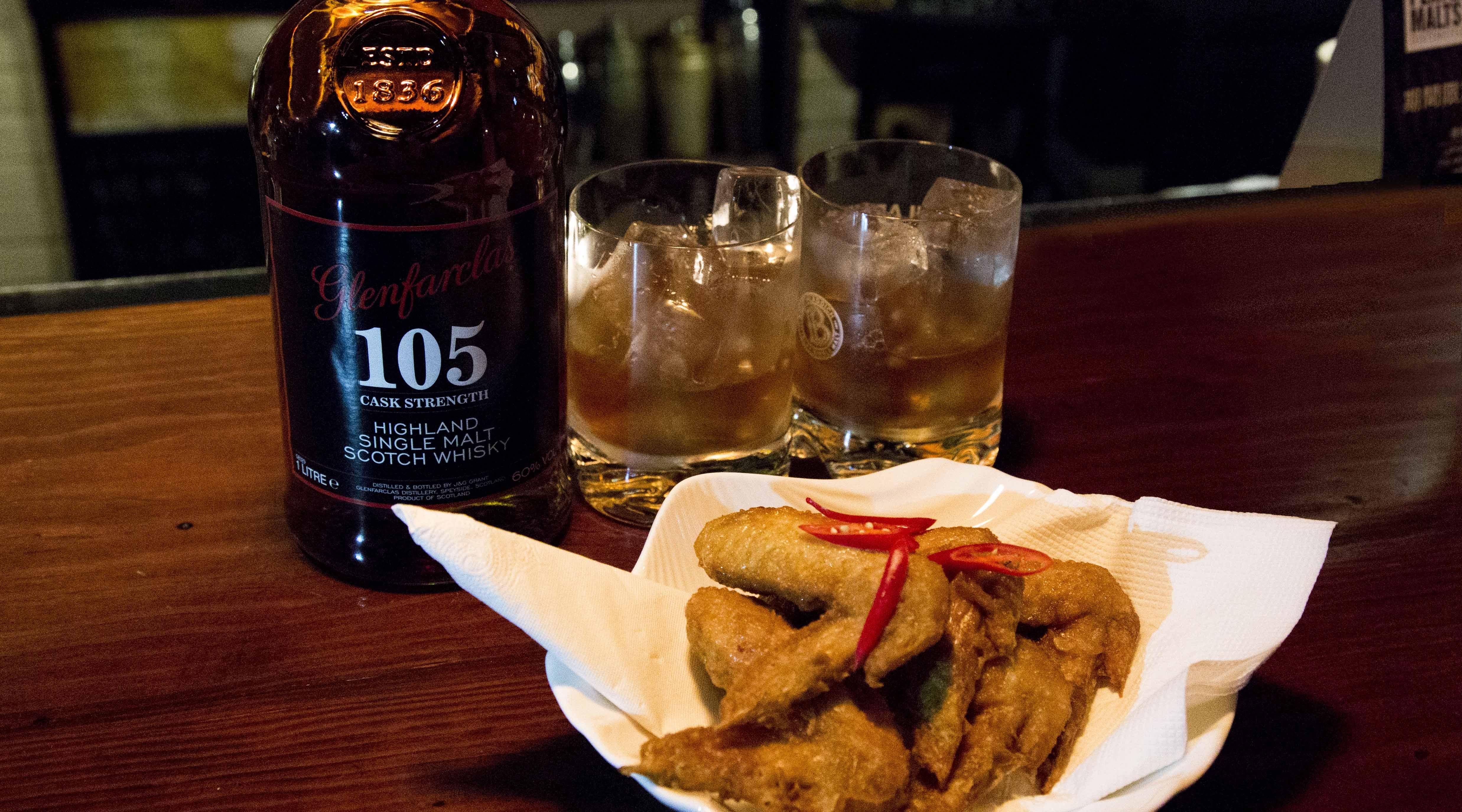 NOX Taipei-放鬆夜   威士忌 2 杯 + 香辣雞翅