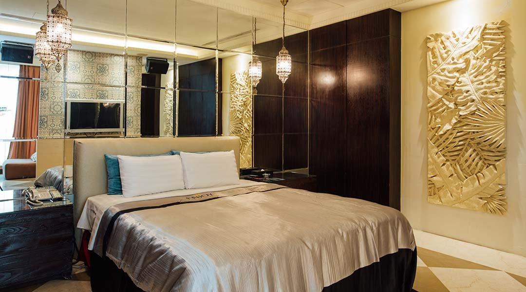 悅萊精品旅館-極緻天光房 12h|泳池戲水