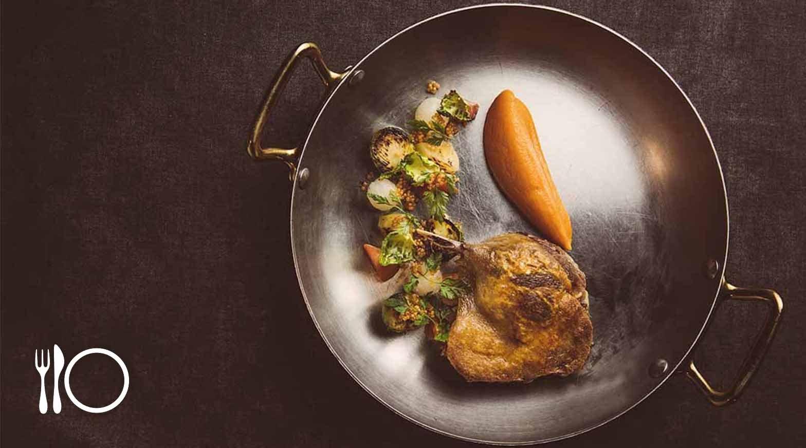 米其林餐盤   Chou Chou法式料理餐廳-摩登法式料理   單人午間菜單