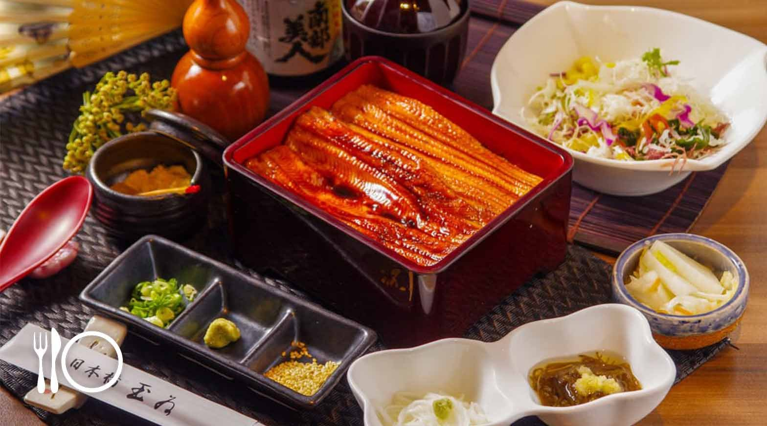米其林餐盤|日本橋玉井-中盒鰻魚飯套餐 | 贈前菜