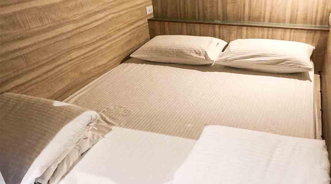 九窩九份膠囊旅店-九窩雙人床位 不分男女