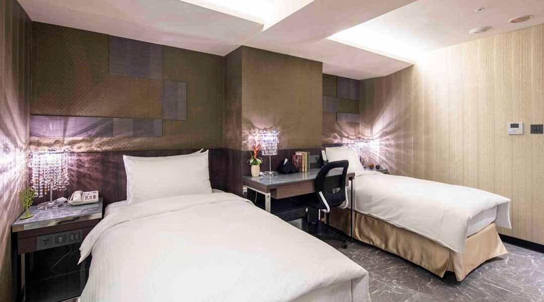 愛行旅-不指定雙床房 12h 含浴缸