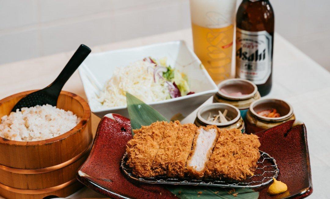 靜岡勝政豬排 - 天母SOGO店-伊比利里肌豬排一人套餐 | 西班牙國寶豬
