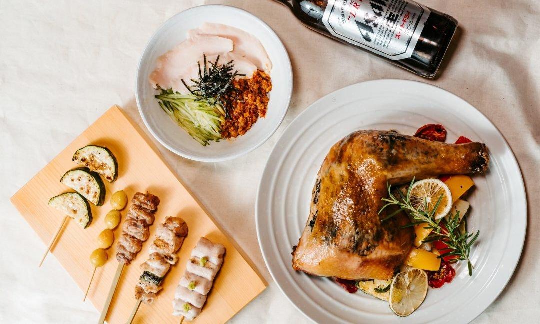 鳥哲燒物-松露烤雞一人套餐