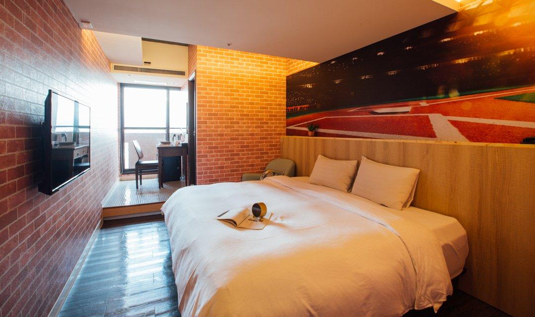 夢想 12 旅店-豪華雙人房|喚起童年夢想
