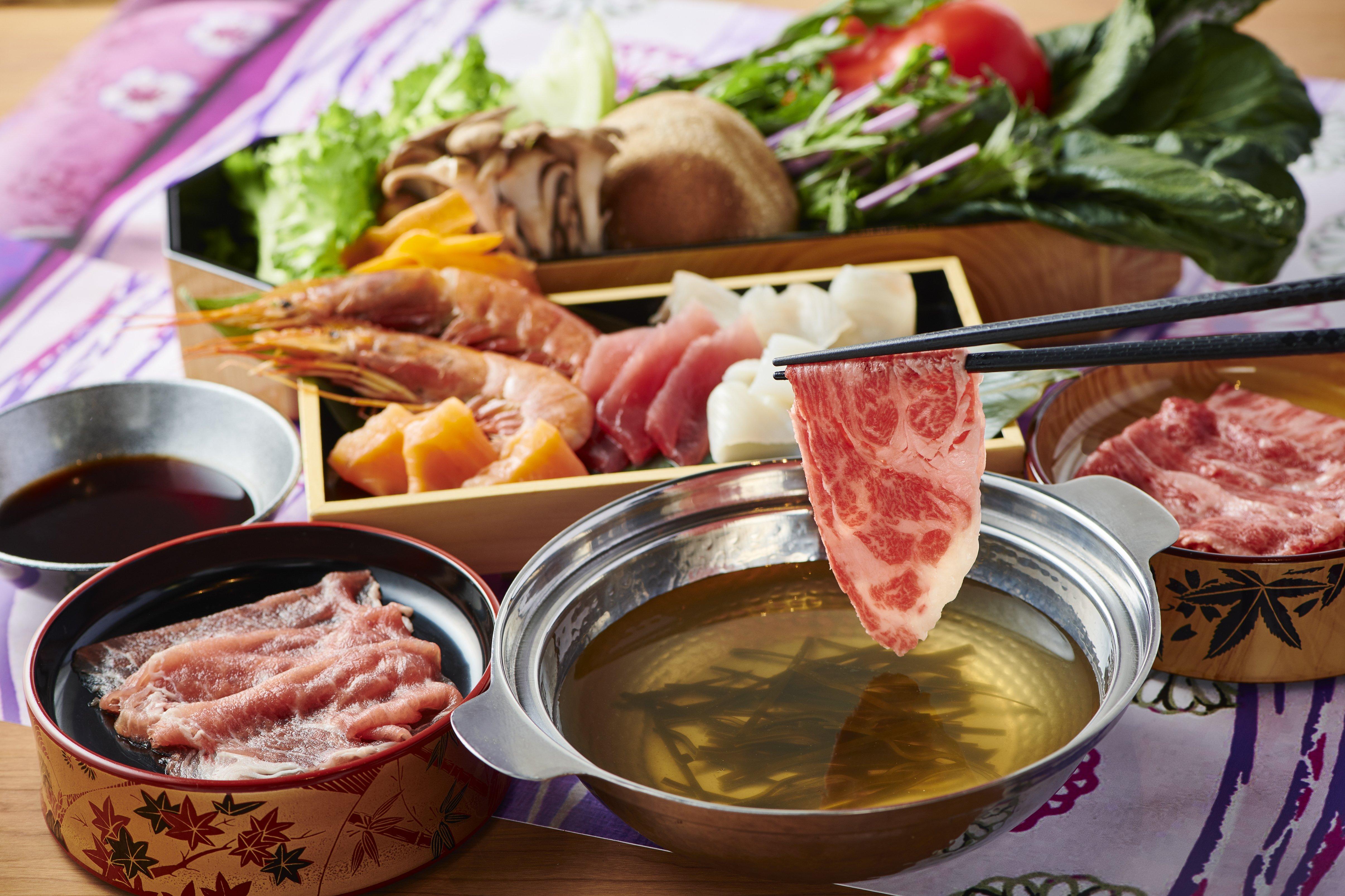WAGAMAMA涮涮鍋 TOKYO淺草-黑毛和牛涮涮鍋吃到飽