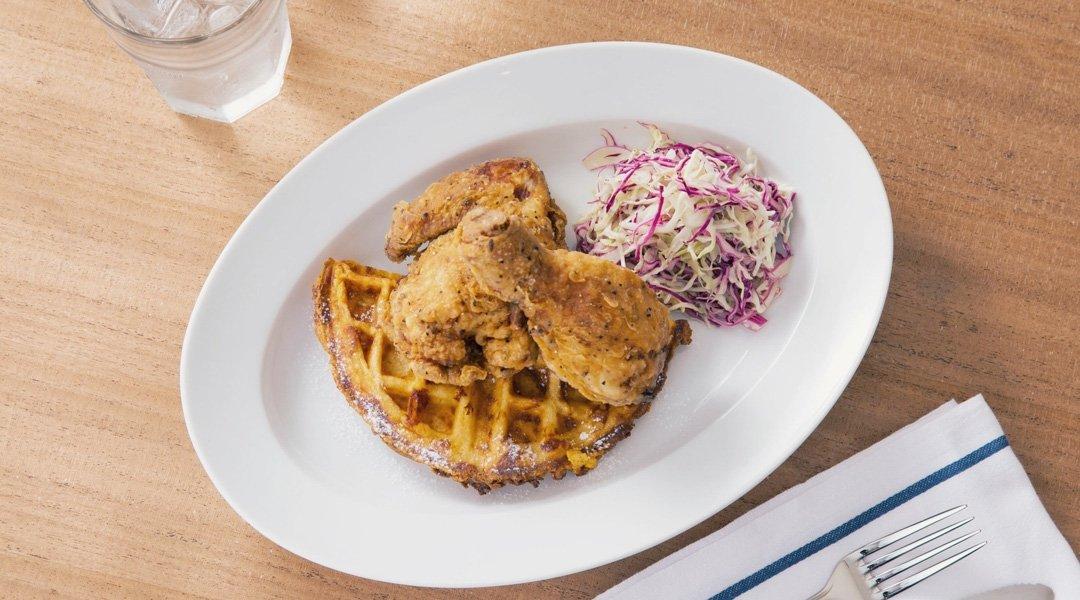 BUTTERMILK CHANNEL 原宿店-早午餐|酪乳烤雞肉
