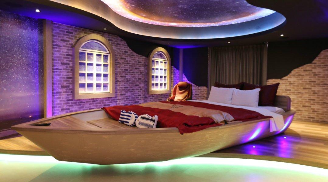 優勝美地汽車旅館太原會館-麗緻尊爵房型|泡澡放鬆首選