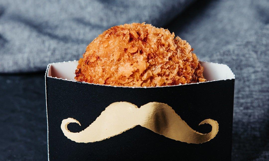 GOLD MENCHI 金葉名氣餅 (誠品信義店B2)-松露和牛名氣餅一入