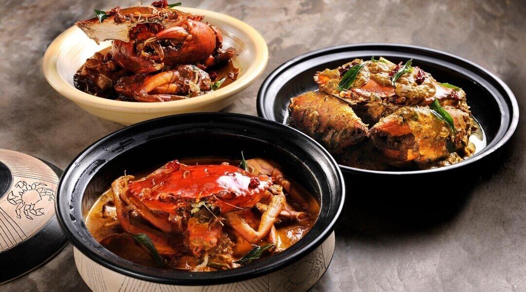 ALIYAA Island Restaurant & Bar-Authentic Sri Lankan Crab Curry