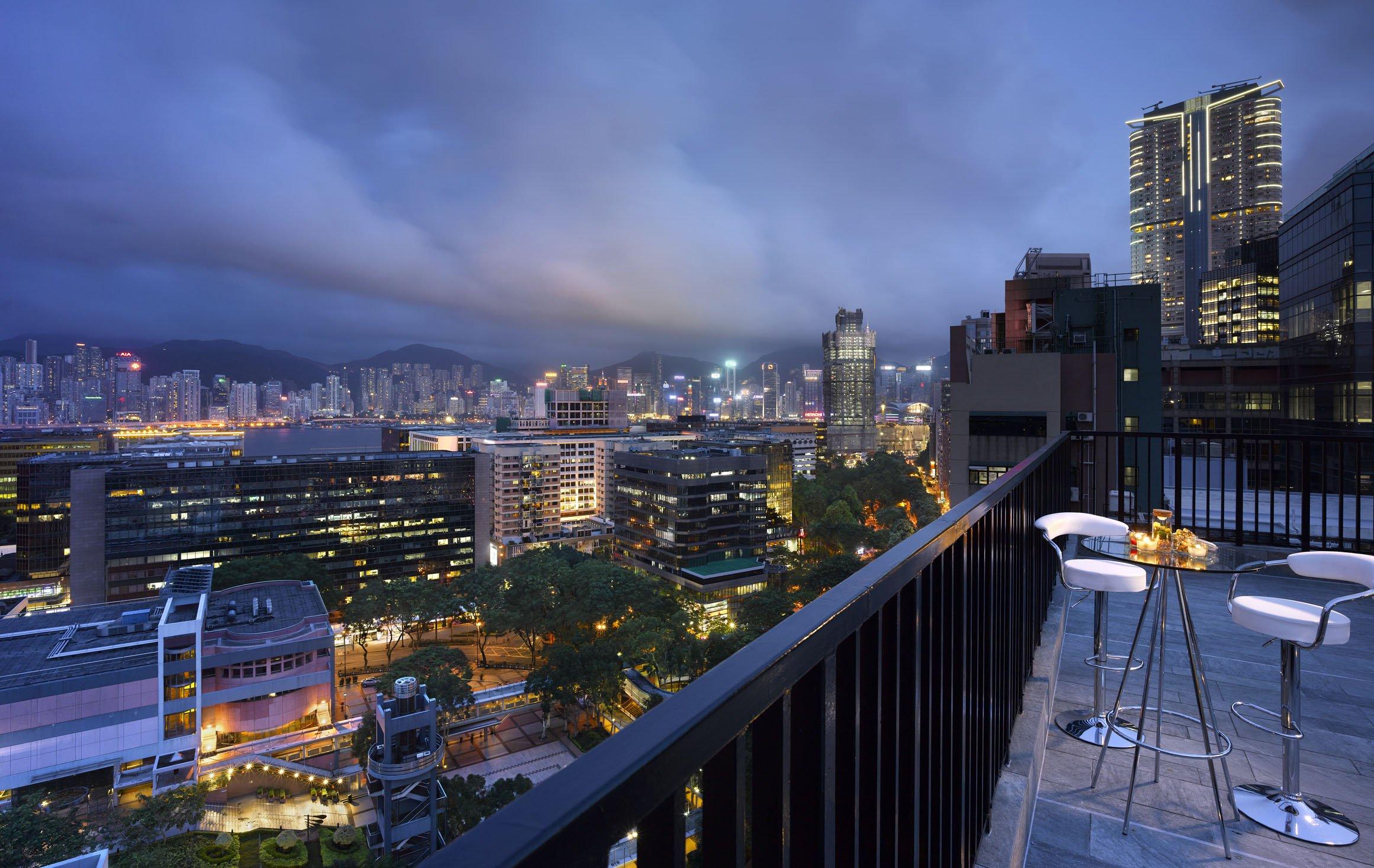 香港珀薈酒店 Hong Kong Popway Hotel-Sky Deck 星光套餐 A (雙人)