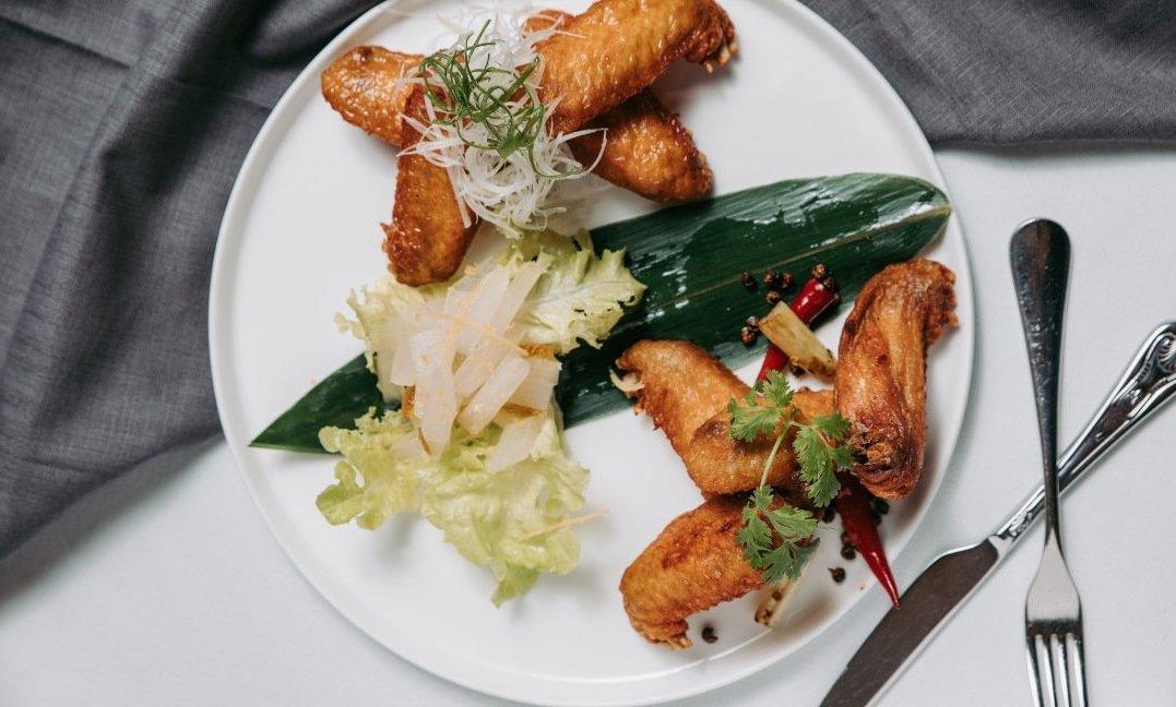 台北喜來登 大廳酒吧-綜合風味雞翅拼盤(一人份)