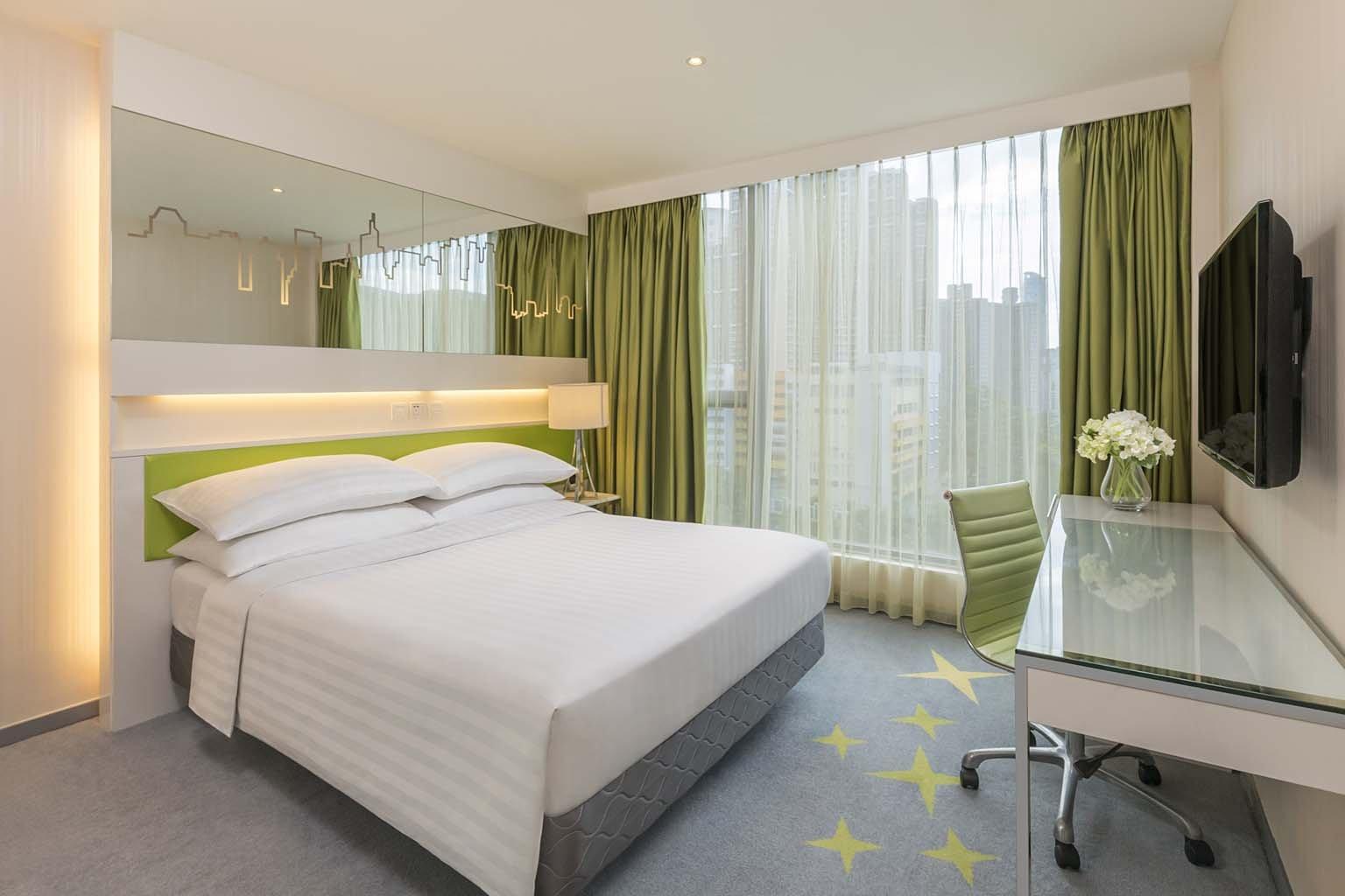 香港荃灣帝盛酒店 Dorsett Tsuen Wan-豪華客房 6h 連1人房內全日精選套餐