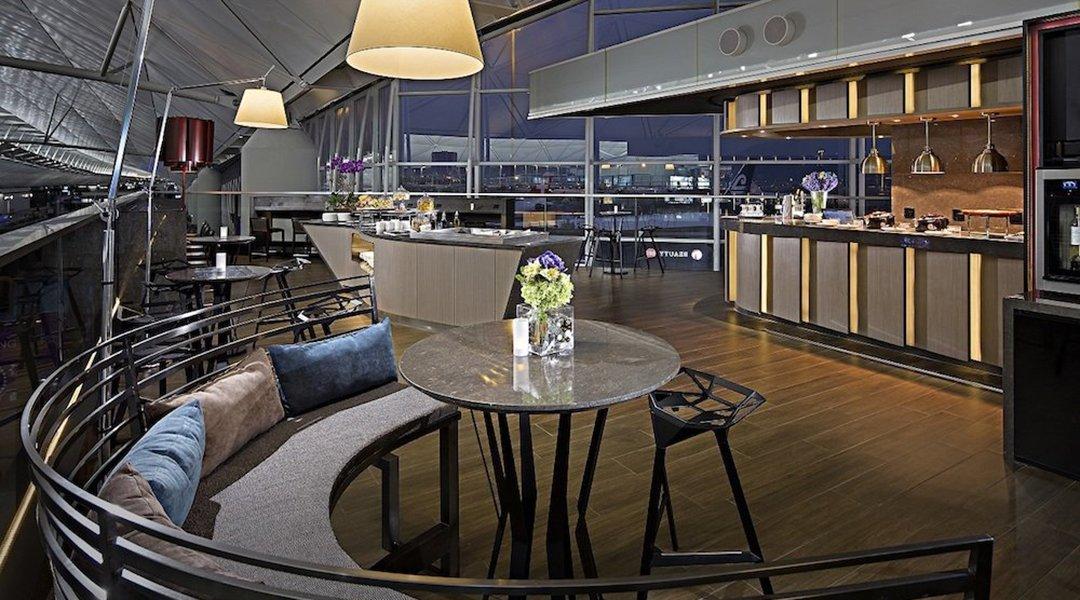 環亞機場貴賓室 Plaza Premium Lounge, HKG-環亞機場貴賓室 休息 3h