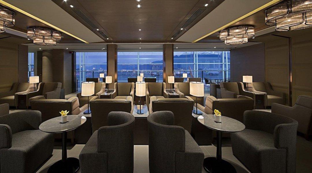 環亞機場貴賓室 Plaza Premium Lounge, HKG-環亞機場貴賓室 休息 12h