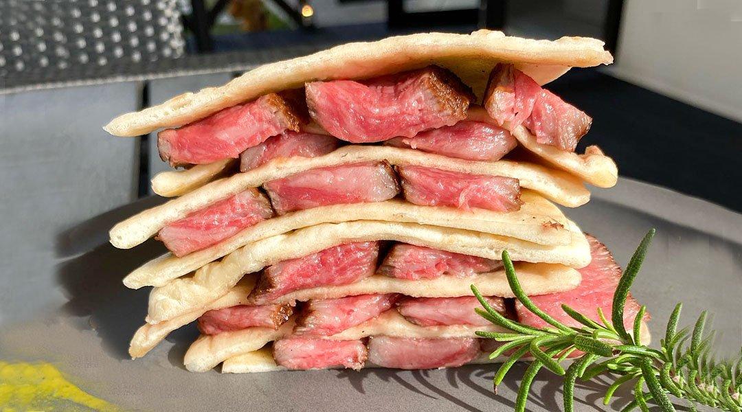 Blue Entrance Kitchen-沖繩縣民優惠|外帶|和牛墨西哥夾餅 1 份|附 FunNow 會員贈送