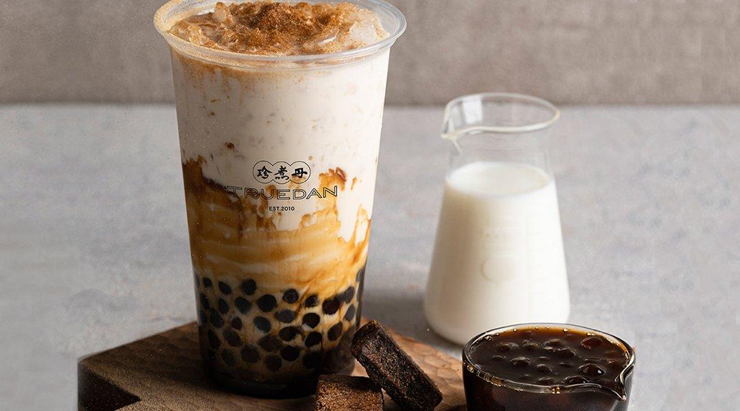 珍煮丹 澀谷店-黑糖珍珠奶茶 中杯