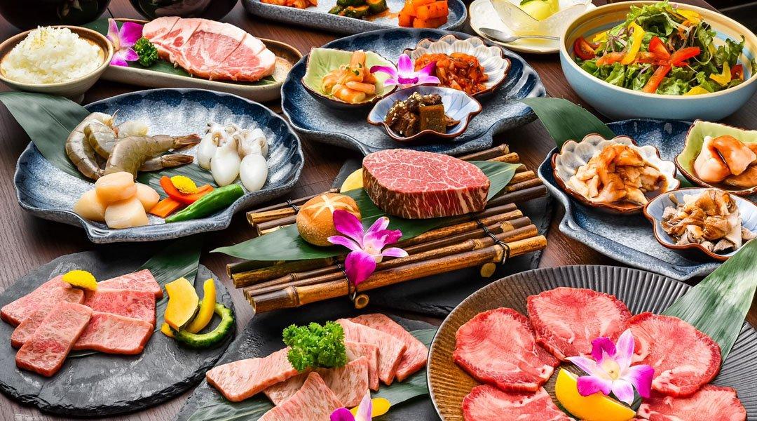 和牛燒肉 牛武士-沖繩縣民優惠|A 套餐