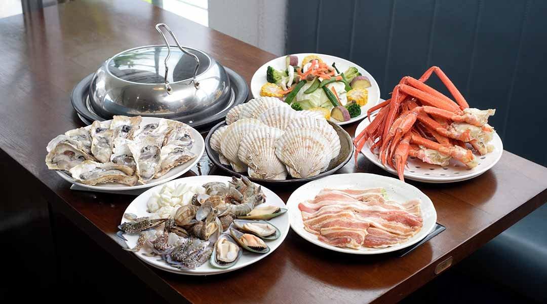 北谷蒸氣海鮮-沖繩縣民優惠|平日 90 分鐘吃到飽|大人